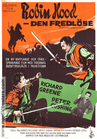 Sword of Sherwood Forest 1961 Richard Greene Peter Cushing Robin Hood