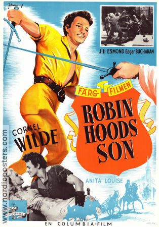 Bandit of Sherwood Forest 1946 Movie poster Cornel Wilde
