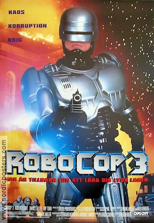 Robocop 3 1993 Robert Burke Nancy Allen