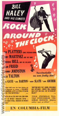Rock Around the Clock 1956 poster Bill Haley Fred F Sears