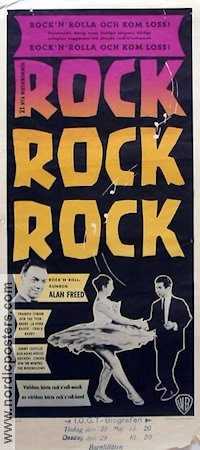 Rock Rock Rock 1956 poster Will Price