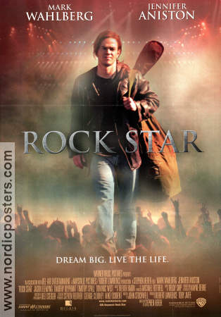 Rock Star 2001 poster Mark Wahlberg Stephen Herek
