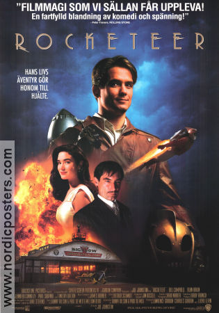 The Rocketeer 1991 poster Bill Campbell