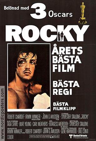 rocky movie poster 1977 original nordicposters