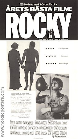 Rocky 1977 Movie poster Sylvester Stallone