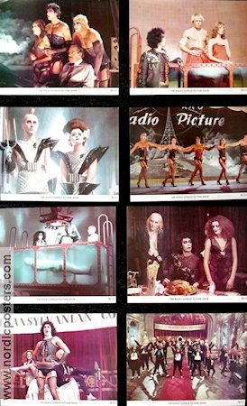 Rocky Horror Picture Show 1975 Lobby card set Tim Curry