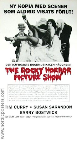 Rocky Horror Picture Show 1975 Tim Curry Susan Sarandon Meatloaf