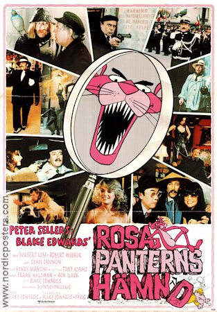 Revenge of the Pink Panther 1978 poster Peter Sellers Blake Edwards