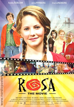 Rosa the Movie 2007 poster Anna Ryrberg