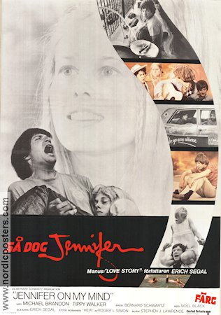 Jennifer On My Mind 1971 poster Michael Brandon Noel Black