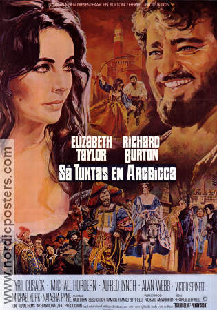 The Taming of the Shrew 1967 poster Elizabeth Taylor
