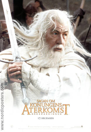 The Return of the King Poster 70x100cm advance B RO Gandalf original