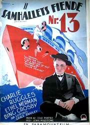 Anything Goes 1936 poster Charlie Ruggles