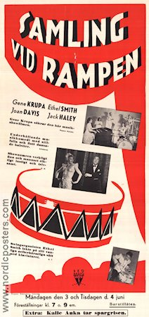 George White's Scandals 1946 poster Gene Krupa