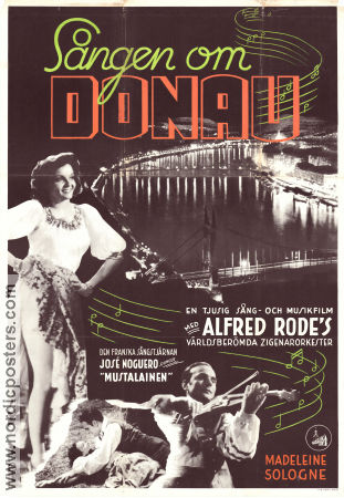 La Danube bleu 1940 Movie poster Alfred Rode