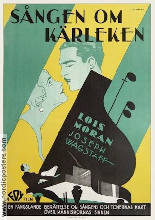 A Song of Kentucky 1929 poster Lois Moran