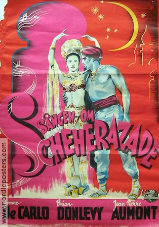 Song of Scheherazade 1947 Movie poster Yvonne De Carlo