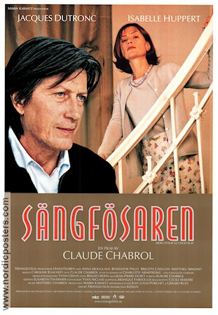 Merci pour le chocolat 2000 Movie poster Jacques Dutronc Claude Chabrol