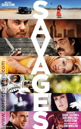 Savages 2012 poster Blake Lively Oliver Stone