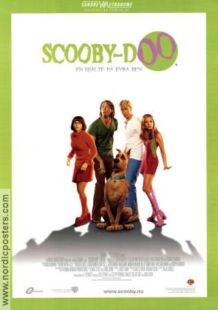 scoobydoo movie poster 2002 original