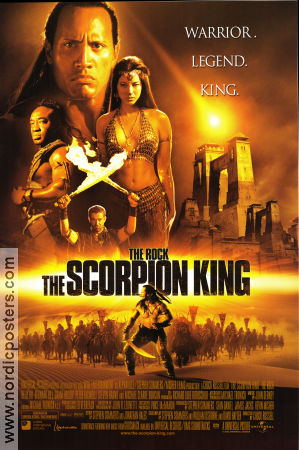The Scorpion King 2001 The Rock