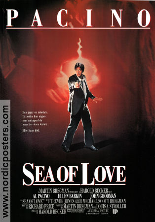 Sea of Love poster 1989 Al Pacino original