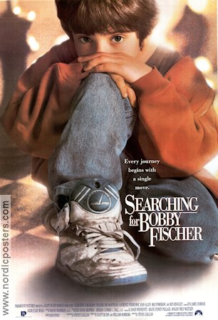 Movie poster searching for bobby fischer 1993