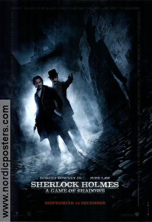 Sherlock Holmes A Game of Shadows 2011 poster Robert Downey Jr Guy Ritchie