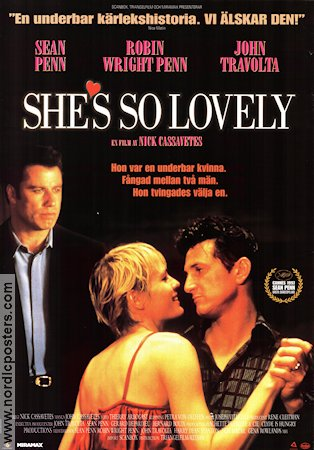 She's So Lovely 1997 Sean Penn John Travolta Robin Wright Penn Nick Cassavetes