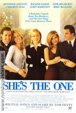She's the One 1996 Movie poster Jennifer Aniston