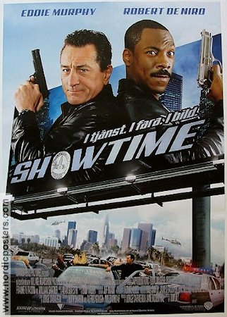 Showtime 2002 Movie poster Robert De Niro