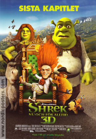 Shrek Forever After 2010 poster Chris Miller
