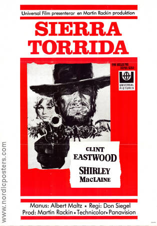 Two Mules for Sister Sara 1970 poster Clint Eastwood
