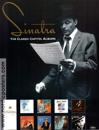 Sinatra the Classic Capitol Albums CD 1990 poster Frank Sinatra
