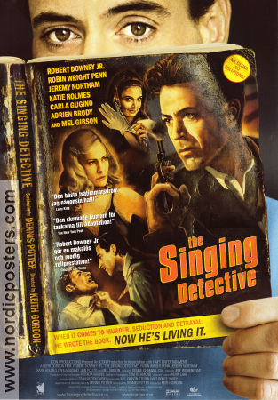 The Singing Detective 2003 poster Robert Downey Jr