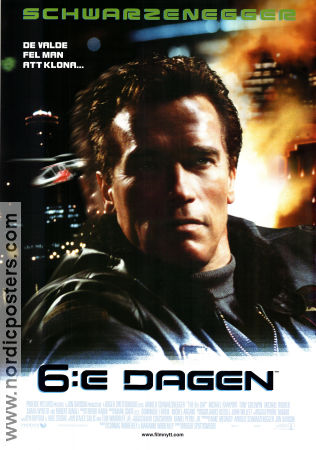 The 6th Day 2000 poster Arnold Schwarzenegger