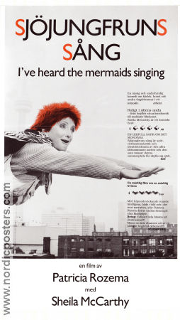I've Heard the Mermaids Sing 1987 poster Sheila McCarthy Patricia Rozema