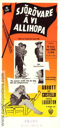 abbott and costello meet frankenstein original poster star