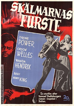 Prince of Foxes 1949 Henry King Tyrone Power Orson Welles Wanda Hendrix