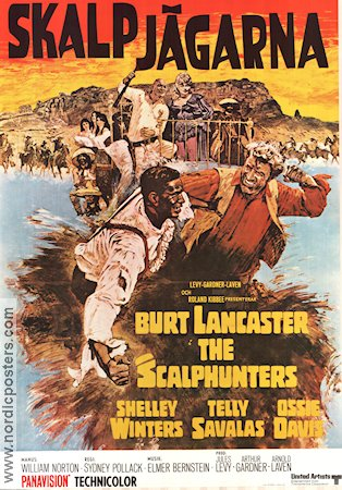 The Scalphunters 1968 Burt Lancaster Shelley Winters Telly Savalas