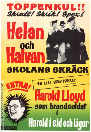 A Chump At Oxford 1940 Laurel and Hardy Helan och Halvan Harold Lloyd