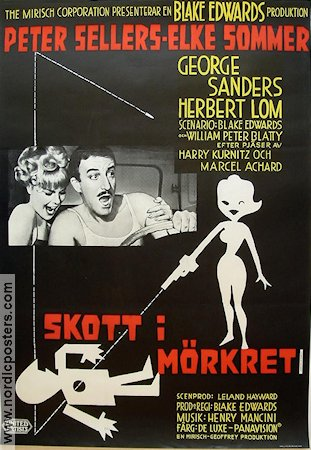 A Shot in the Dark 1964 poster Peter Sellers Blake Edwards