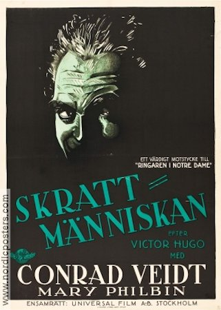 The Man Who Laughs 1928 poster Conrad Veidt