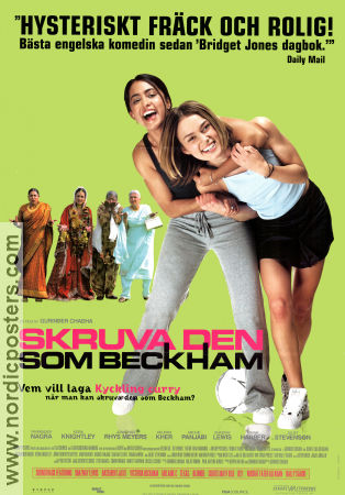 BEND IT LIKE BECKHAM Movie poster 2002 original NordicPosters