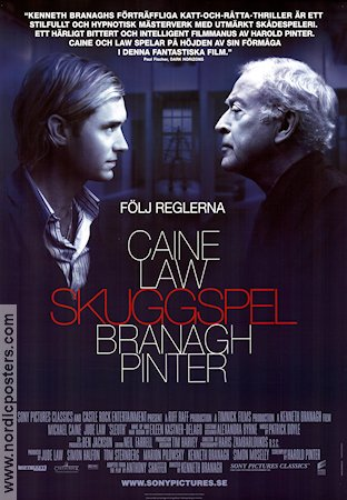 Sleuth 2007 poster Michael Caine