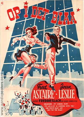 The Sky's the Limit 1943 Movie poster Fred Astaire