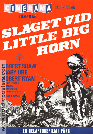 Custer of the West 1967 poster Robert Shaw Robert Siodmak