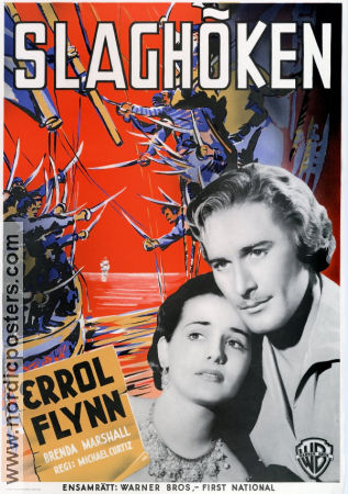 The Sea Hawk 1940 poster Errol Flynn Michael Curtiz