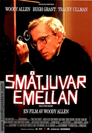 Small Time Crooks 2000 Movie poster Hugh Grant Woody Allen