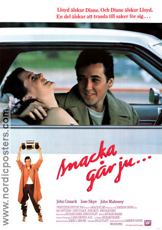 Say Anything 1989 poster John Cusack Cameron Crowe